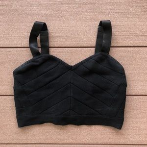 Knit Zip Up Croptop